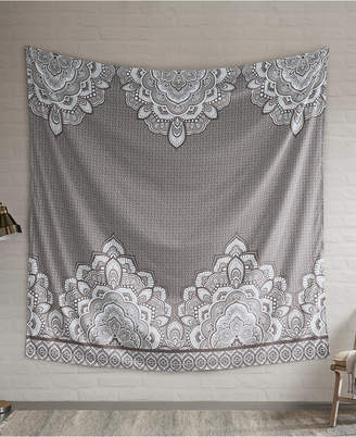 """Isabella Collection Intelligent Design 90"""" Square Printed Wall Tapestry"""