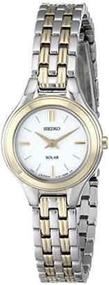 Seiko Women's SUP210 Classic Solar-Power Two-Tone Watch