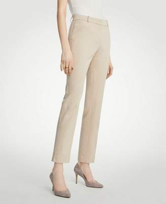 Ann Taylor The Tall Ankle Pant In Cotton Sateen - Curvy Fit