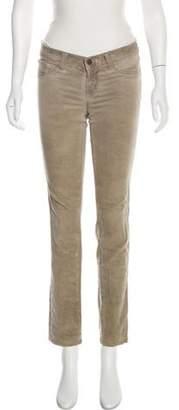J Brand Distressed Low-Rise Jeans