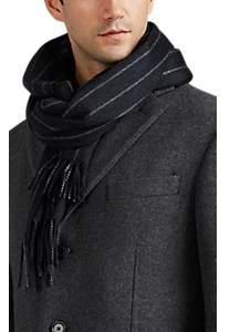 Loro Piana Men's Pinstriped Cashmere Scarf - Stripe