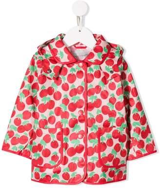 Stella McCartney cherry print hooded jacket