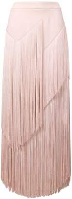 Stella McCartney fringed midi skirt