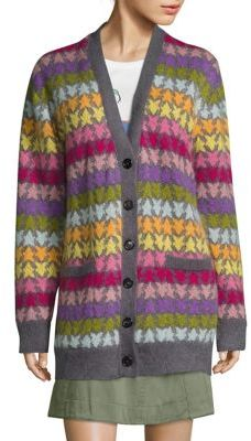 Marc Jacobs Marc Jacobs Star Oversized Mohair Cardigan