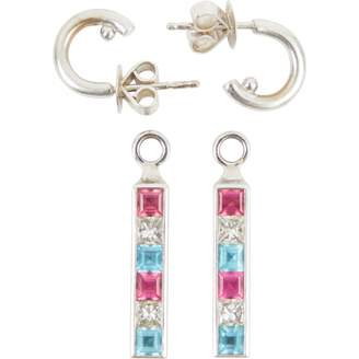 Theo Fennell Multicolour White gold Earrings