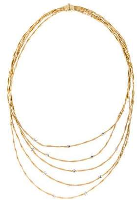 Marco Bicego 18K Diamond Marrakesh Multistrand Necklace