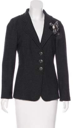 St. John Button-Up Long Sleeve Jacket