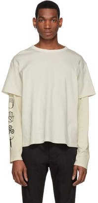 BEIGE St-Henri SSENSE Exclusive Community Long Sleeve T-Shirt