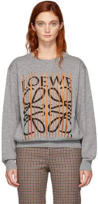 Loewe Grey Cut Sweater