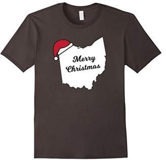 Ohio Merry Christmas Holiday T-Shirt