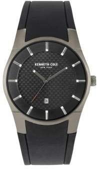 Kenneth Cole Crystal Bezel Analog Strap Watch
