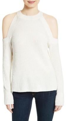 Women's Rag & Bone/jean Dana Cold Shoulder Sweater $250 thestylecure.com