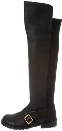 Marc By Marc JacobsMarc by Marc Jacobs Leather Over-The-Knee Boots