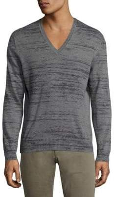 Tomas Maier V-Neck Cotton & Cashmere Sweater