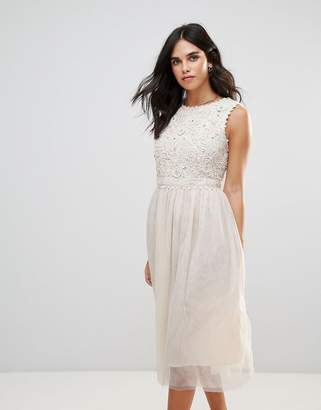 French Connection Lisa Lace Maxi Dress