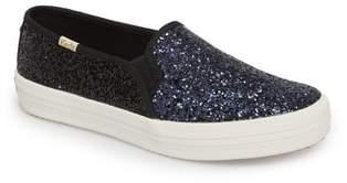 Kate Spade Keds(R) for double decker glitter slip-on sneaker
