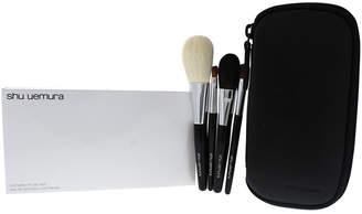 Shu Uemura 4Pc Portable Makeup Brush Set