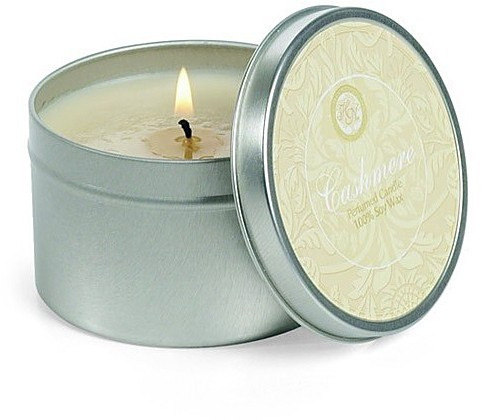 Hillhouse Naturals Cashmere Soy Candle Tin