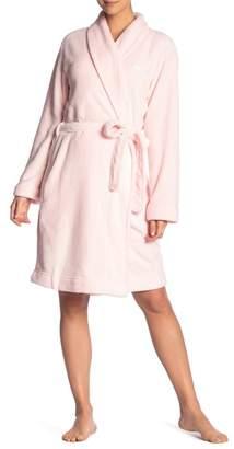 Calvin Klein Plush Shawl Collar Robe