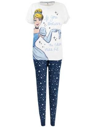 Disney Womens Cinderella Pajamas