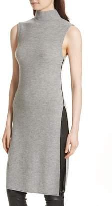 Alice + Olivia Stori Double Slit Sweater Dress