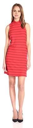 Splendid Women's Loralie Raised Yarn Dye Stripe Dress