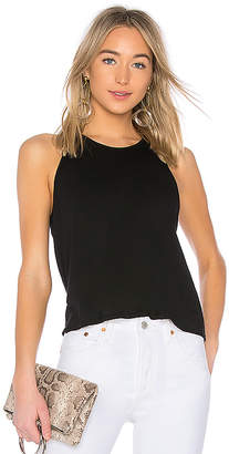 Enza Costa Tissue Jersey Cropped Sheath Tank