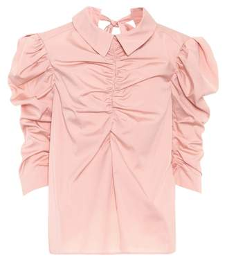 Isa Arfen Cotton poplin shirt