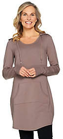 Anybody AnyBody Loungewear Cozy Knit French TerryHooded Tunic
