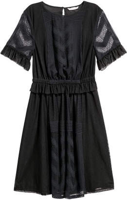 H&M Knee-length Dress - Black