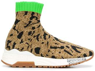 Versace printed sock sneakers