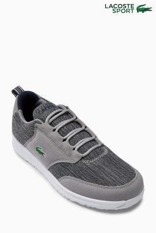 Boys Lacoste Grey Light 118 Lace - Grey