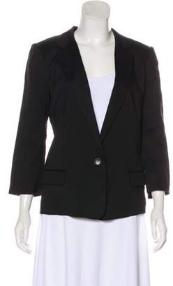Halston Structured Long Sleeve Blazer