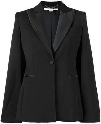 Stella McCartney slit sleeve tuxedo jacket