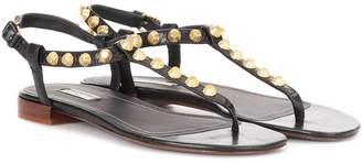 Balenciaga Giant studded leather sandals