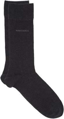 BOSS Cotton Logo Short Socks (2 Pack)