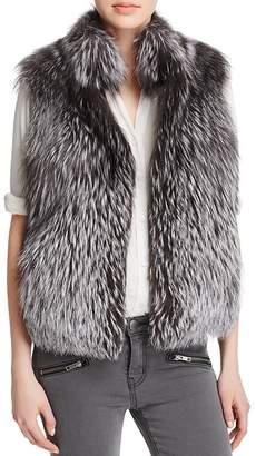 Maximilian Furs Chunky Fox Fur Vest