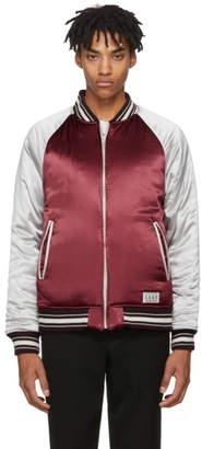 Wacko Maria Reversible Red Ska Bomber Jacket
