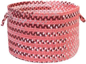 Colonial Mills Rag-Time Cotton Blend Storage Basket