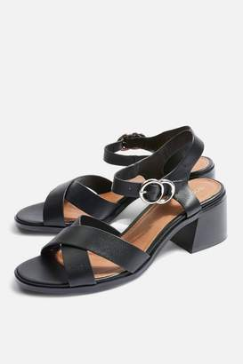 Topshop DEEDEE Block Heel Sandals