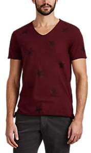John Varvatos Men's Star-Print Cotton T-Shirt - Red