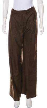 Hermes Wool High-Rise Pants