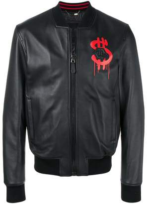 Philipp Plein Alec M Two bomber jacket