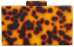 INC International Concepts I.n.c. Lorry Tortoise Box Clutch, Created for Macy's