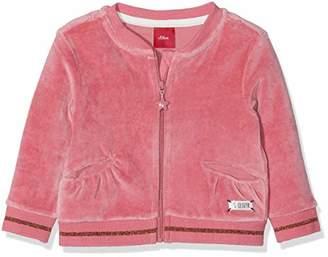 S'Oliver Baby Girls' 65.809.43.3419 Track Jacket (Pink 4365)