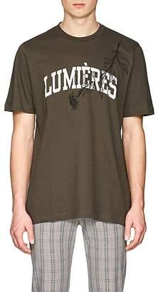 """Oamc Men's """"Lumières""""-Print Cotton T-Shirt"""