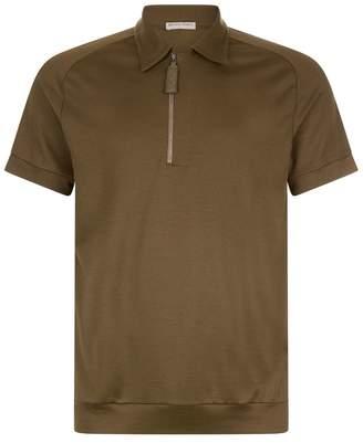 Bottega Veneta Intrecciato Polo Shirt