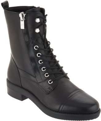 Marc Fisher Lace-up Boots - Uleesa