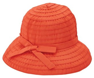 c0d07b4e3d6 Co San Diego Hat Ribbon Braid Bucket Hat withAdjustable Tie