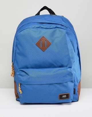 Vans Old Skool Plus Backpack In Blue